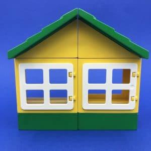 Duplo-huis-groen