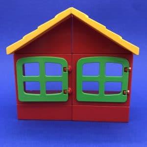 Duplo-huis-rood