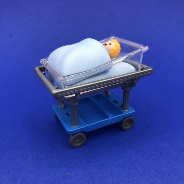Playmobil-babybedje-baby