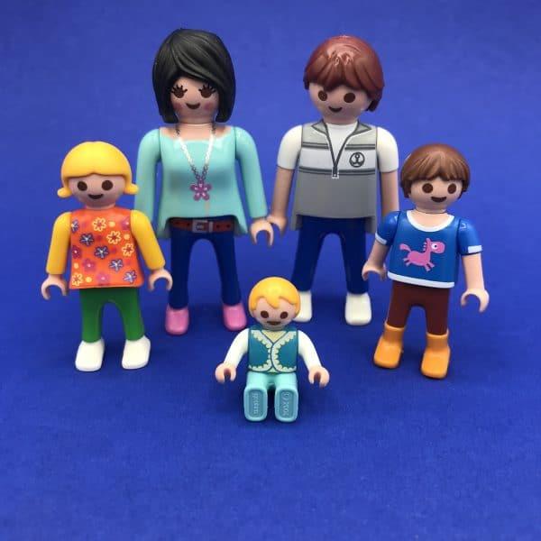 Playmobil-gezin
