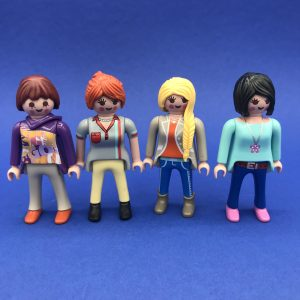Playmobil-vrouwen