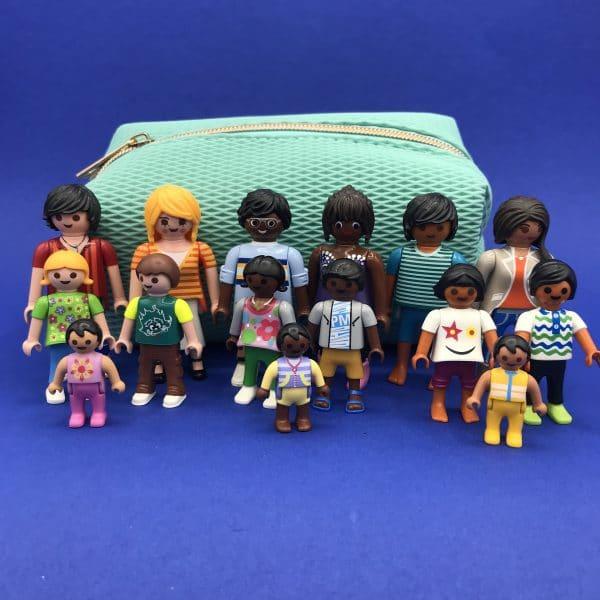 Playmobil-wereldfamilie