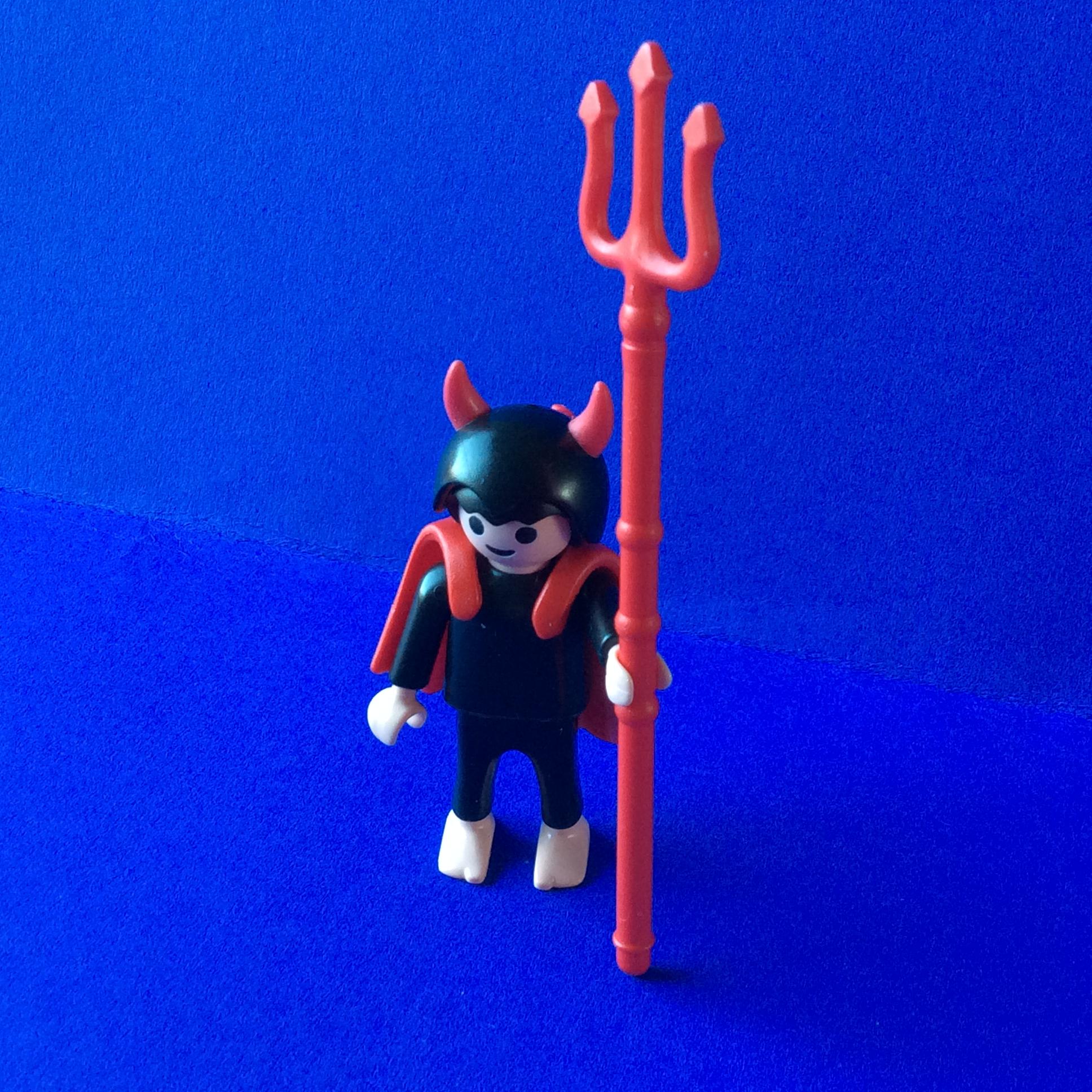 Playmobil-duiveltje