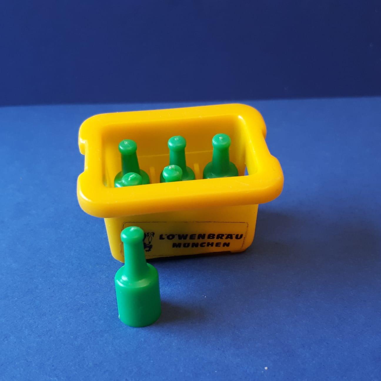Playmobil bierkratje geel