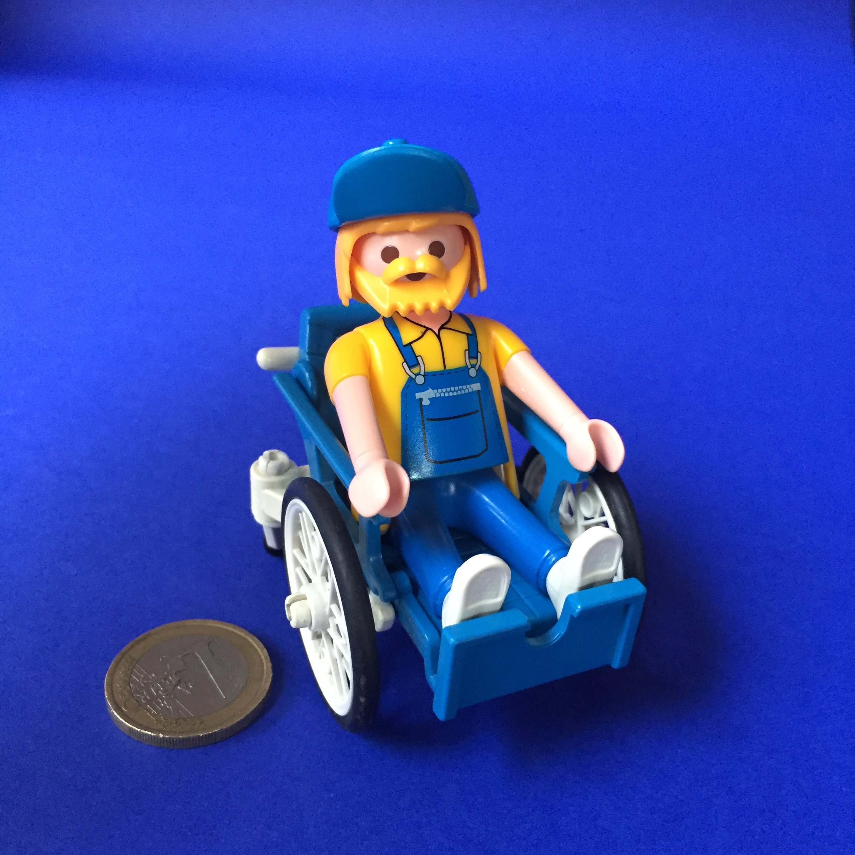 Playmobil- opa-rolstoel
