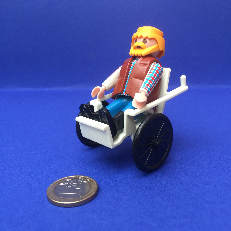 Playmobil-rolstoel