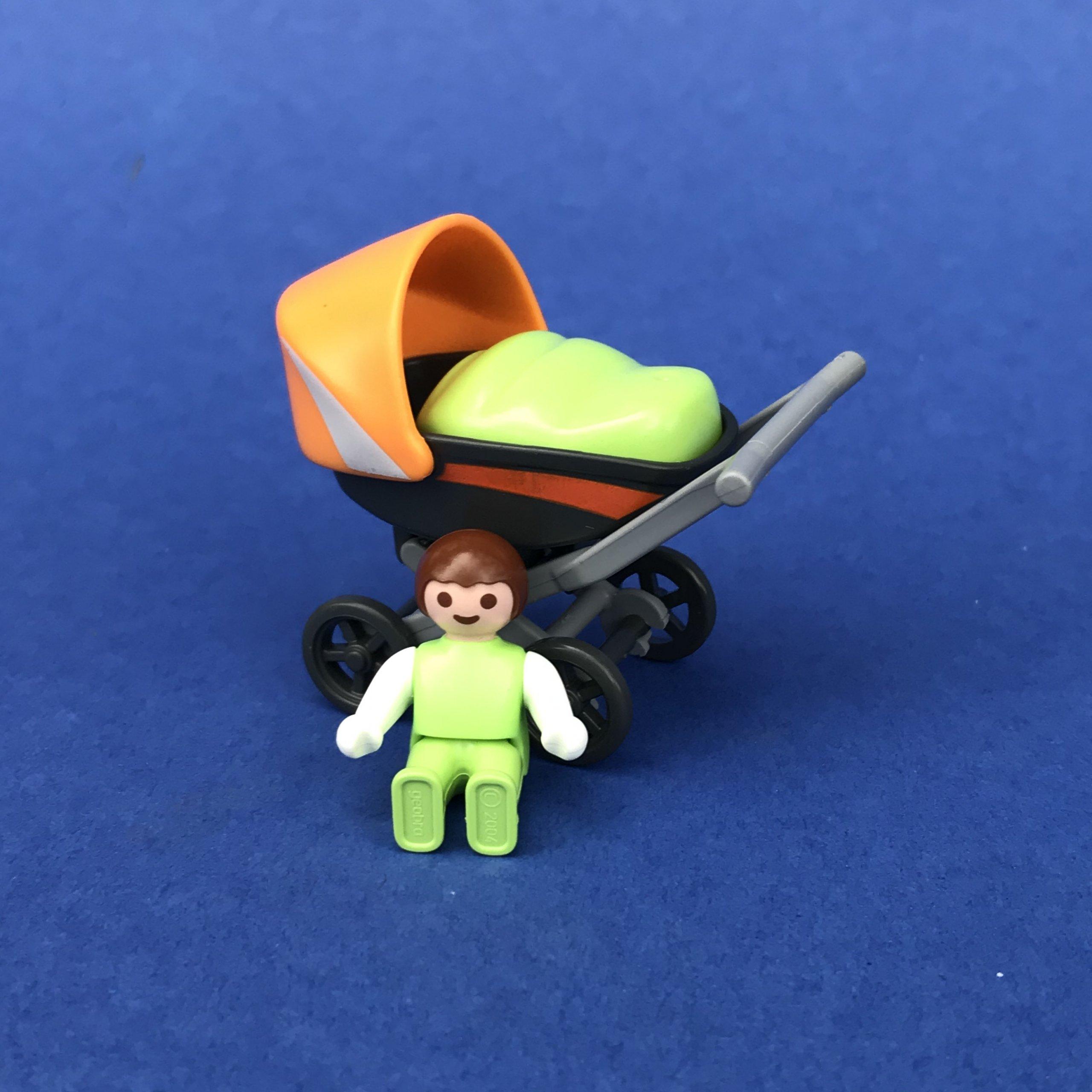 Playmobil-kinderwagen