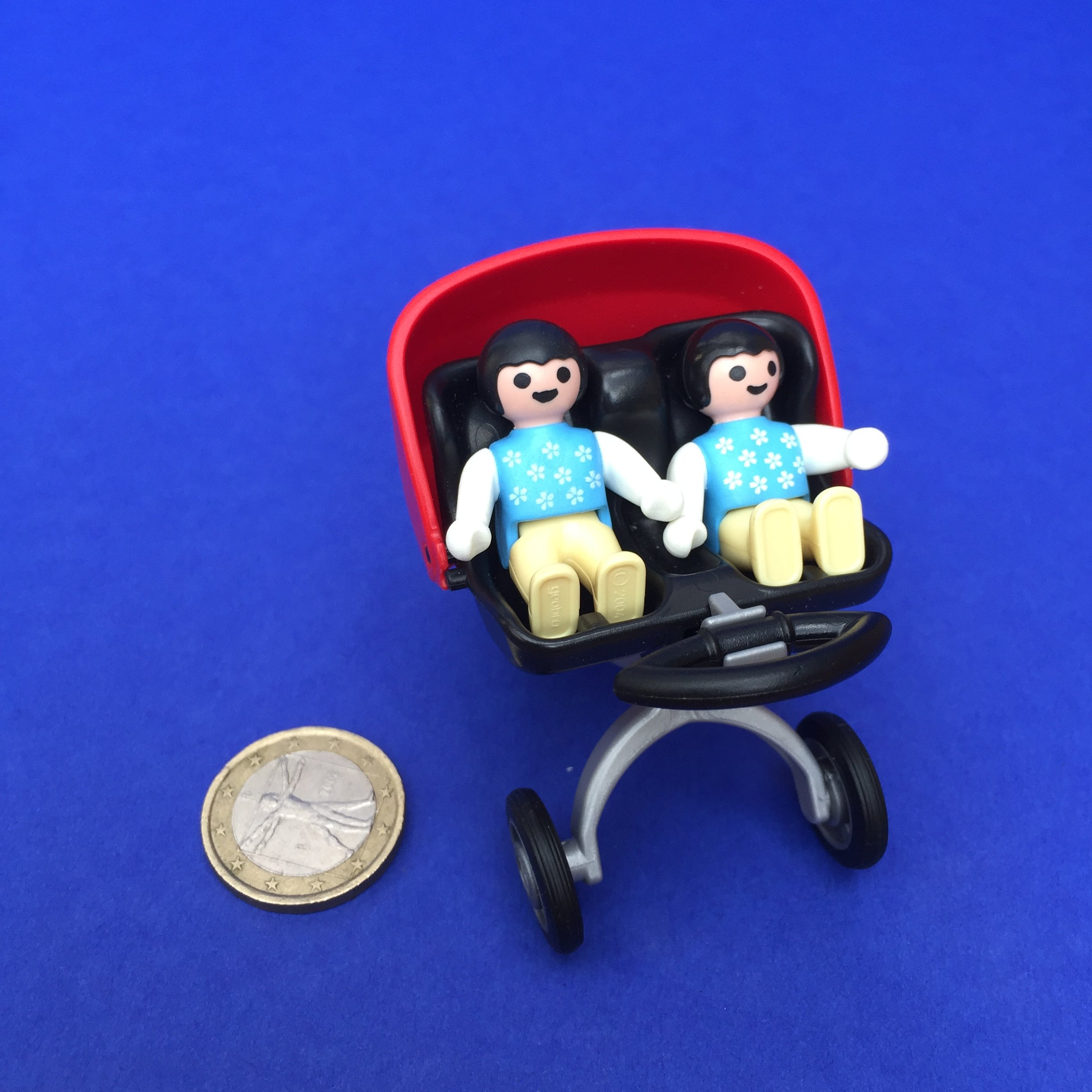 Playmobil tweelingbuggy