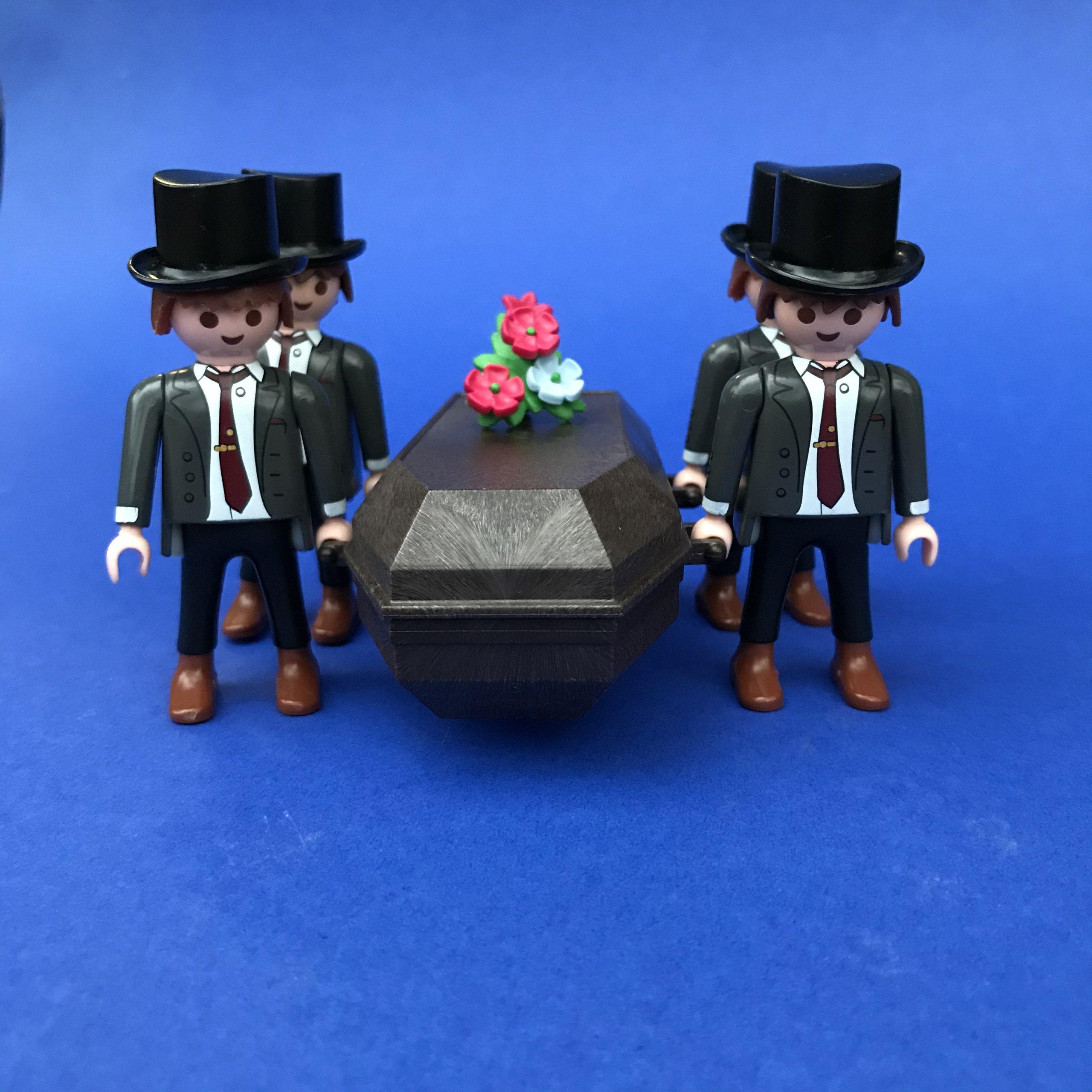 Playmobil begrafenis