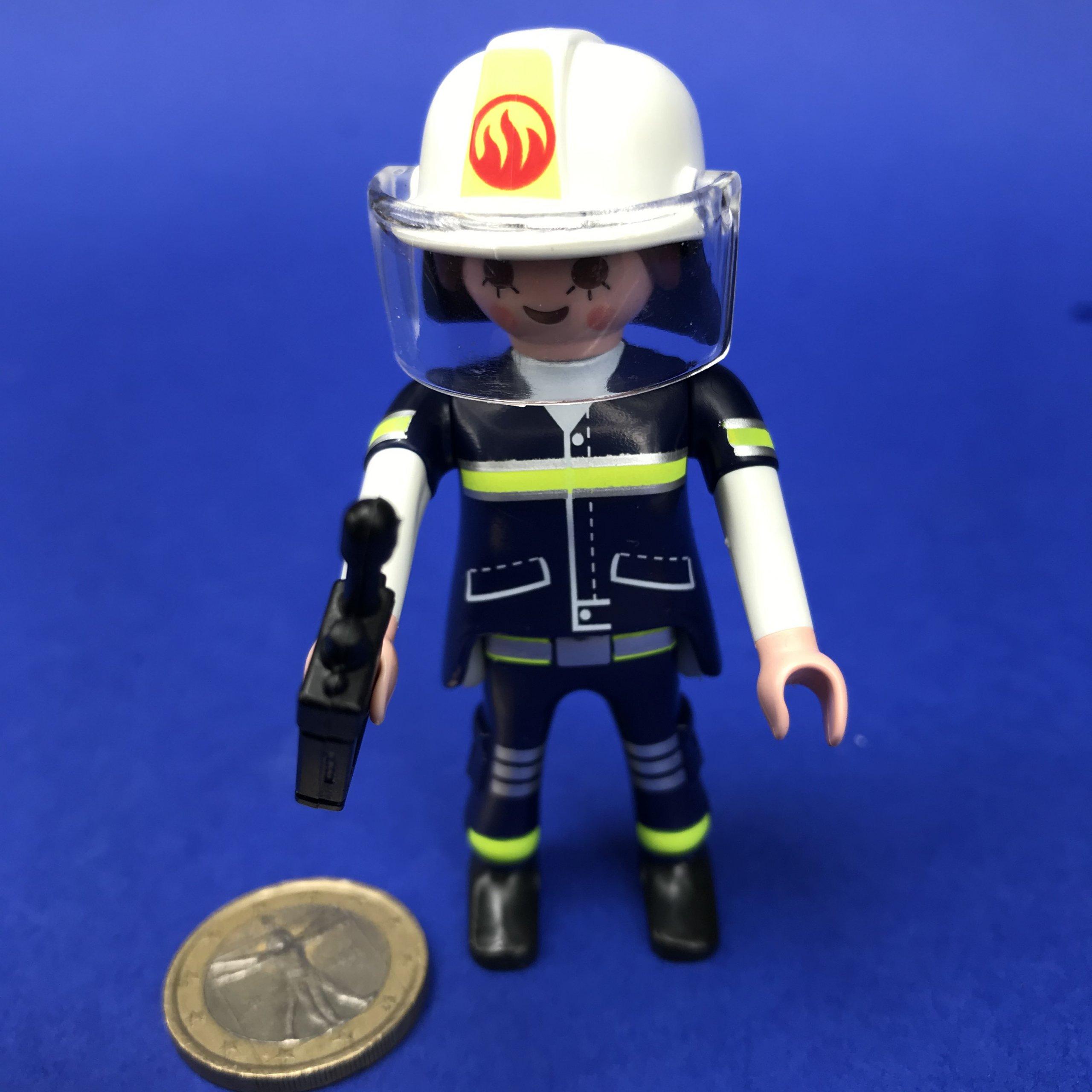 Playmobil-brandweervrouw
