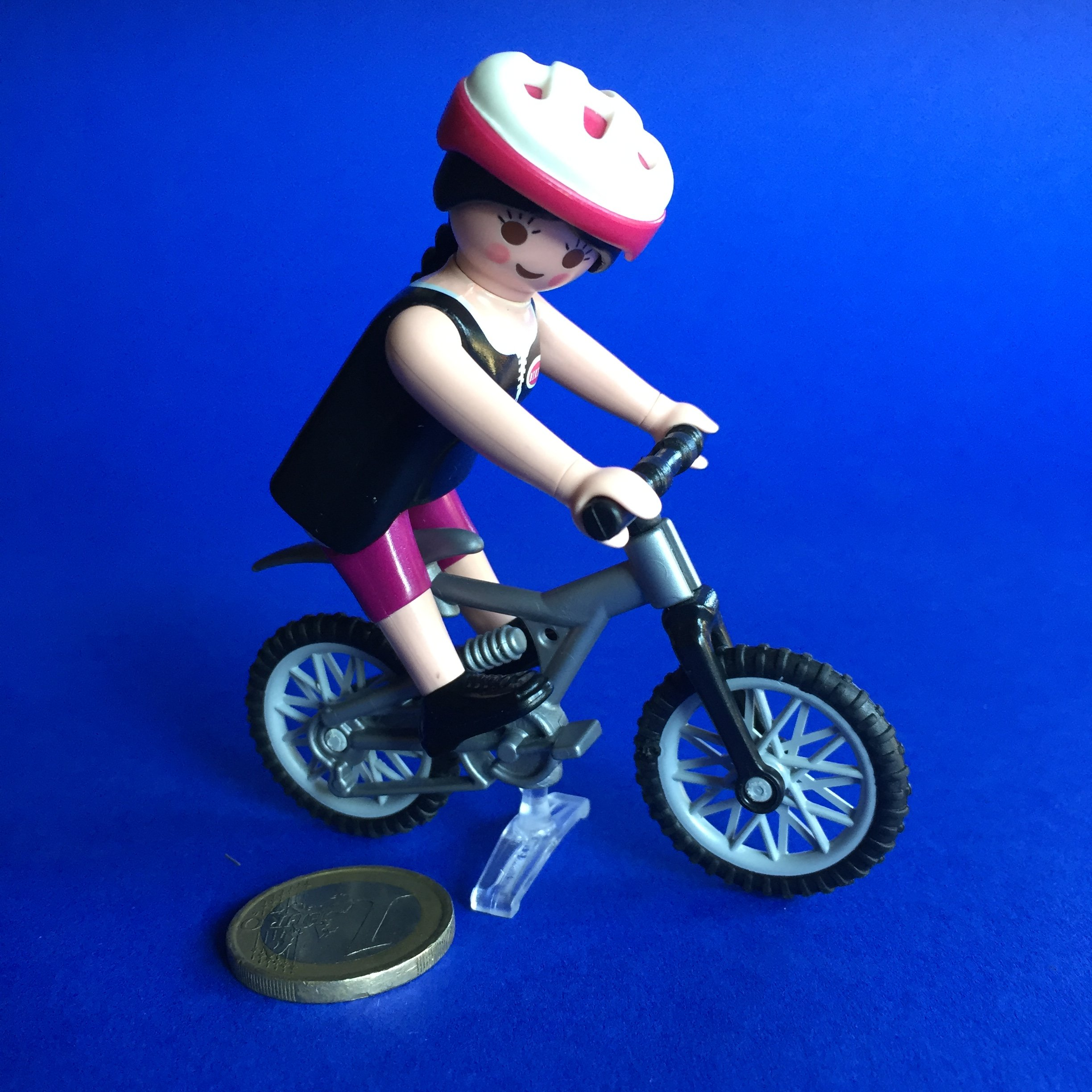Playmobil -dame-fiets