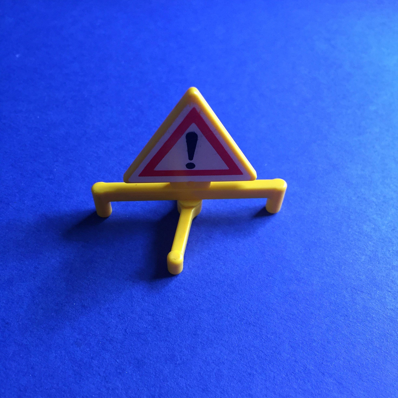 Playmobil-gevarendriehoek