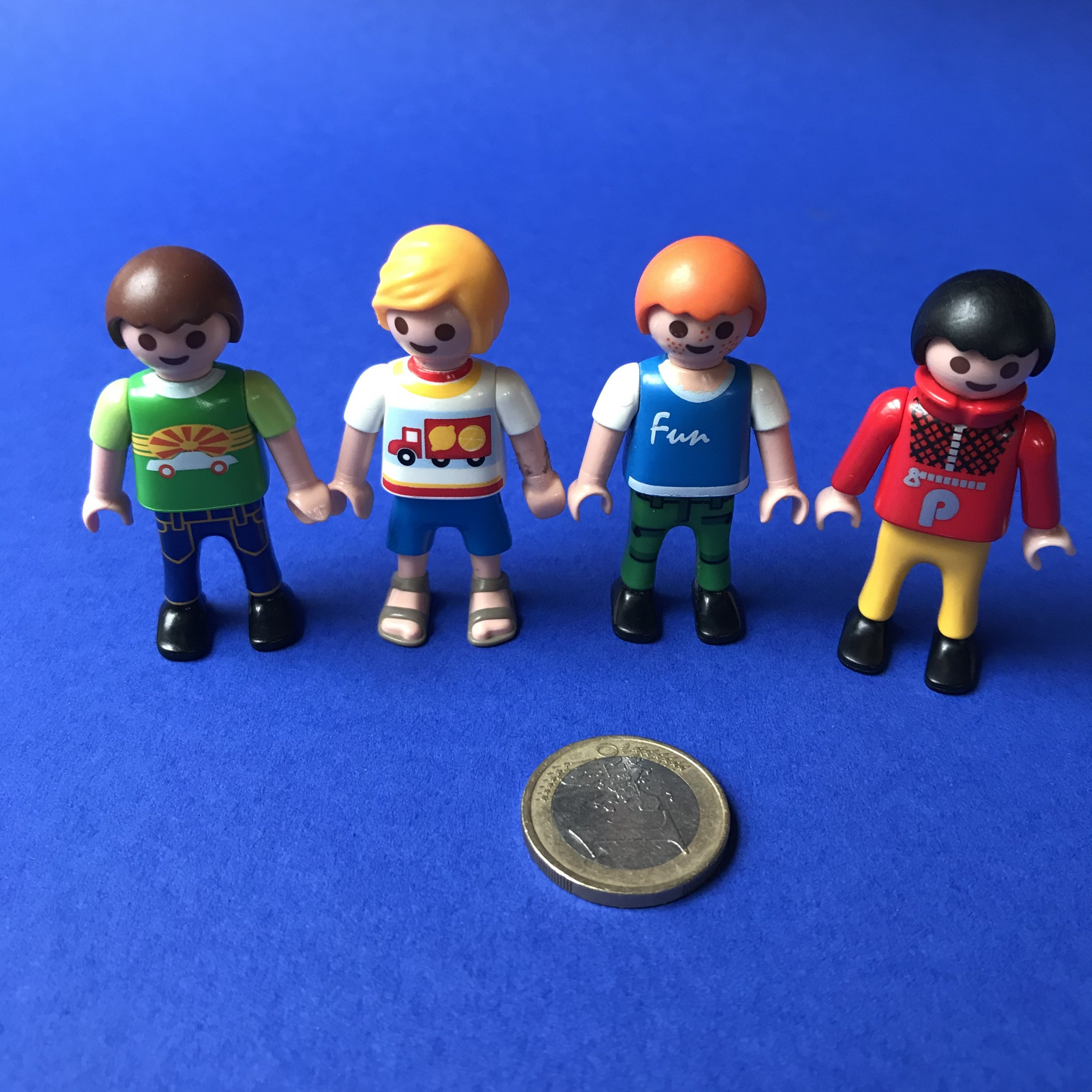Playmobil jongetjes