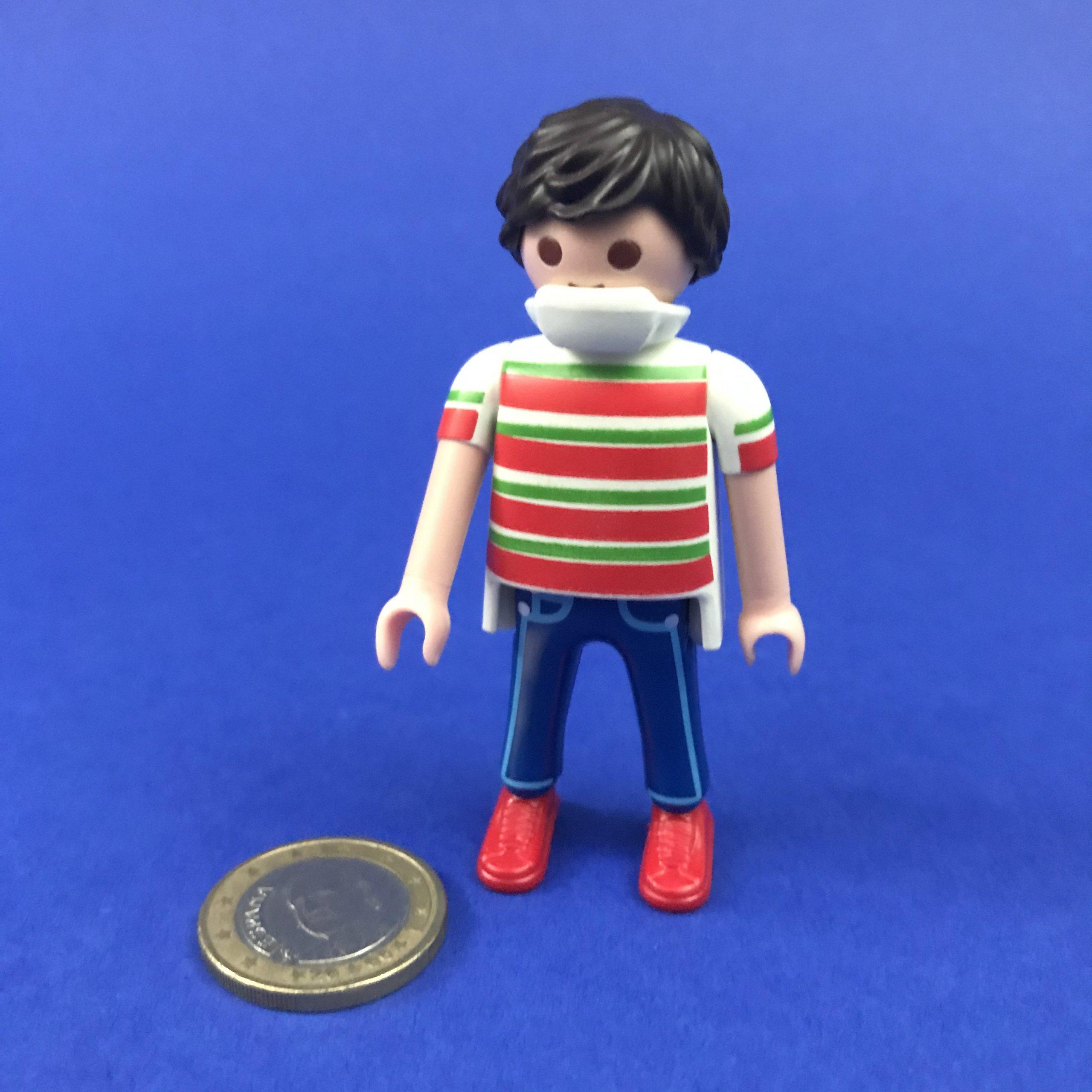 Playmobil-man-mondkapje