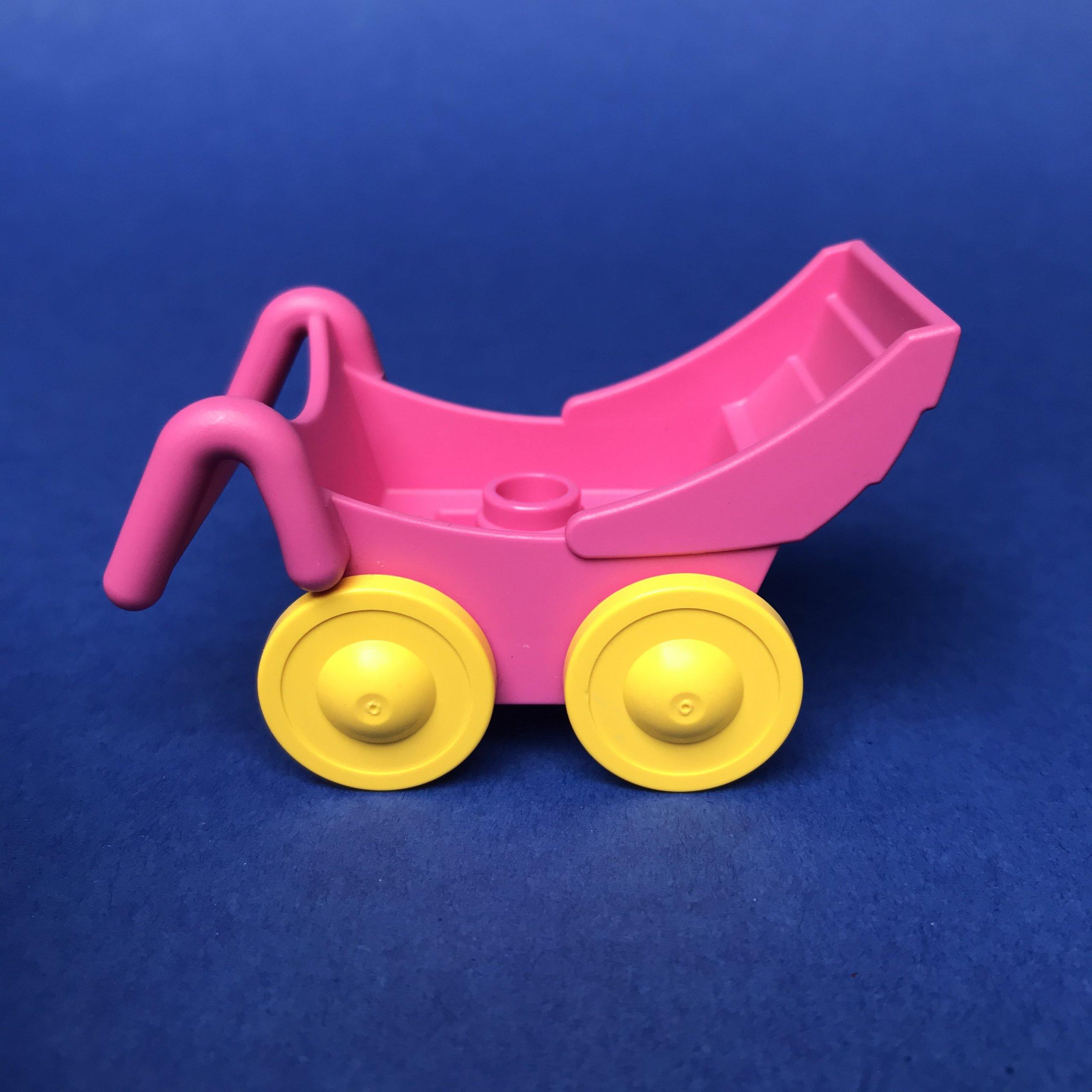 Duplo-kinderwagen