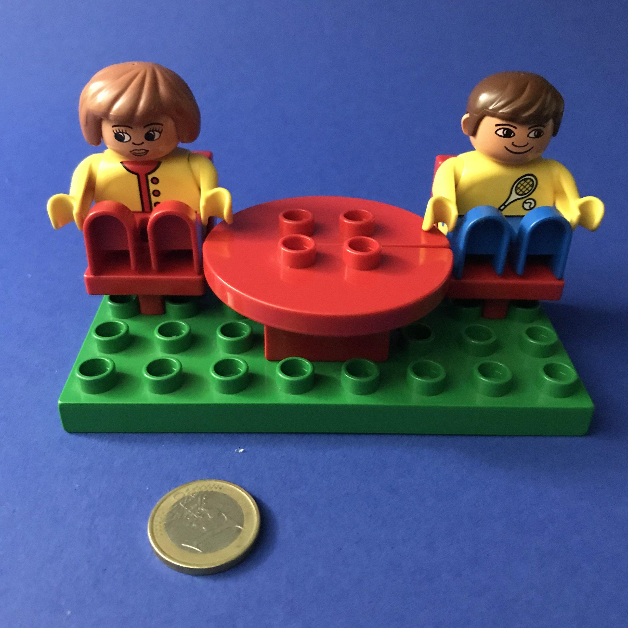 Duplo-tafel-stoel