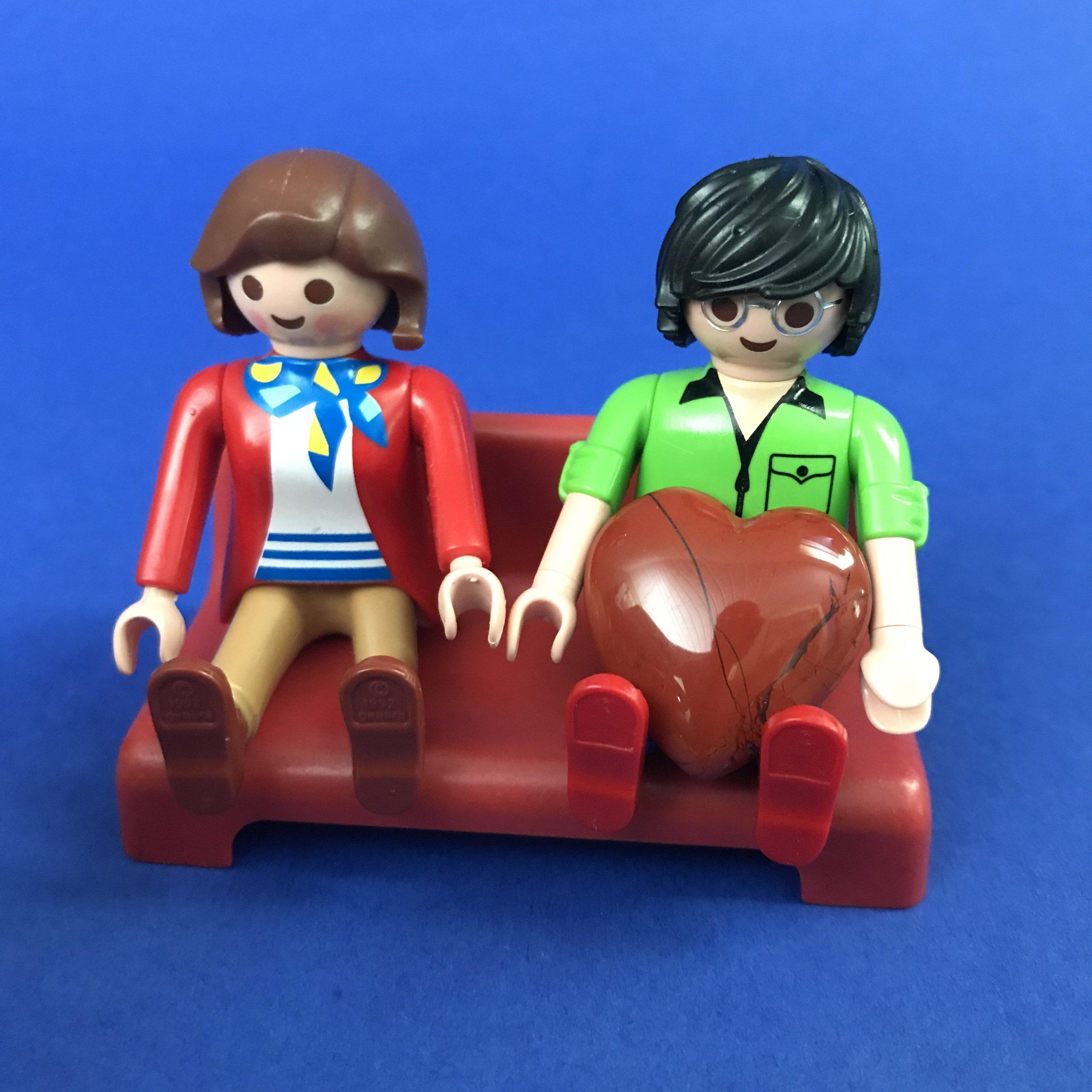 Playmobil-verliefd