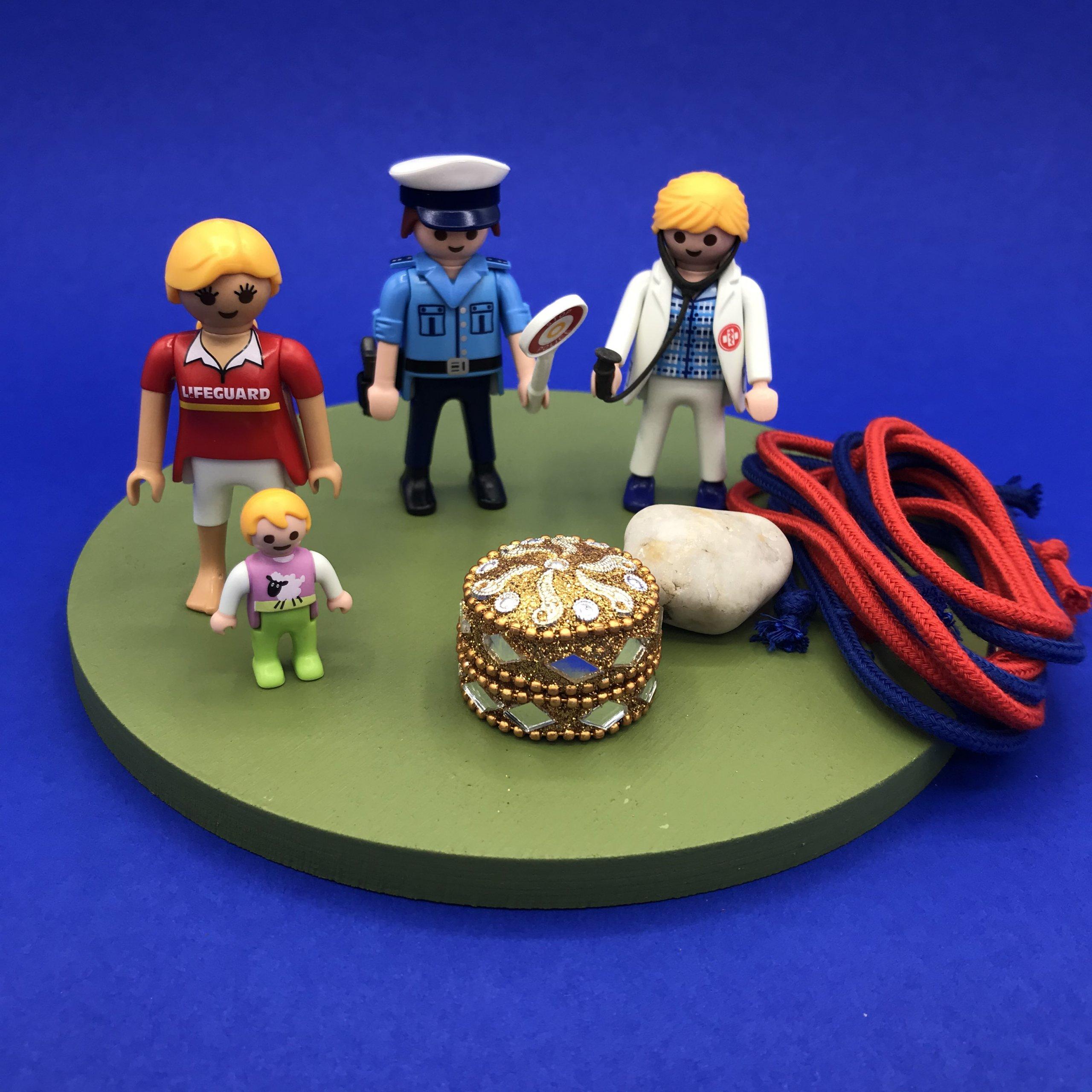 Playmobil-vrouw